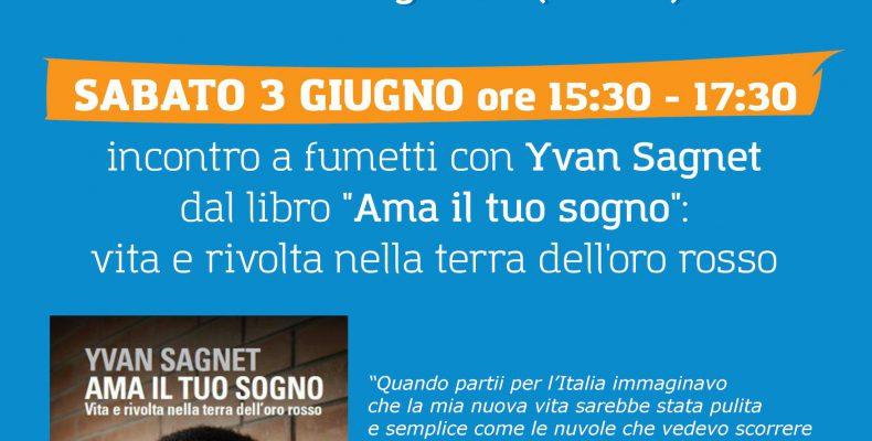 Yvan Sagnet a Cuneo