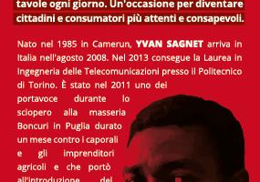 Incontro Yvan Sagnet